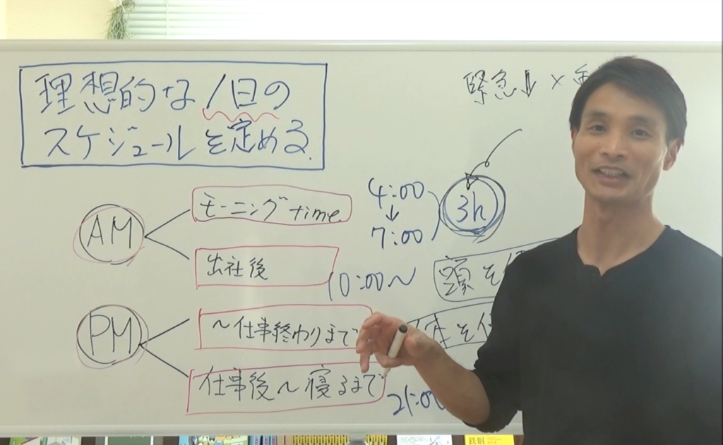 【会員限定動画】パフォーマンスを最大化する1日の理想のスケジュールの定め方